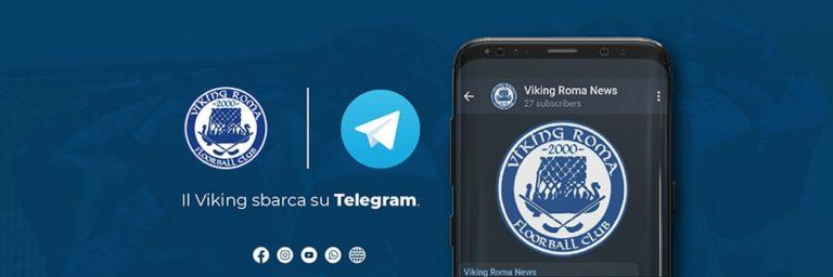 Canale Telegram Floorball Viking Roma