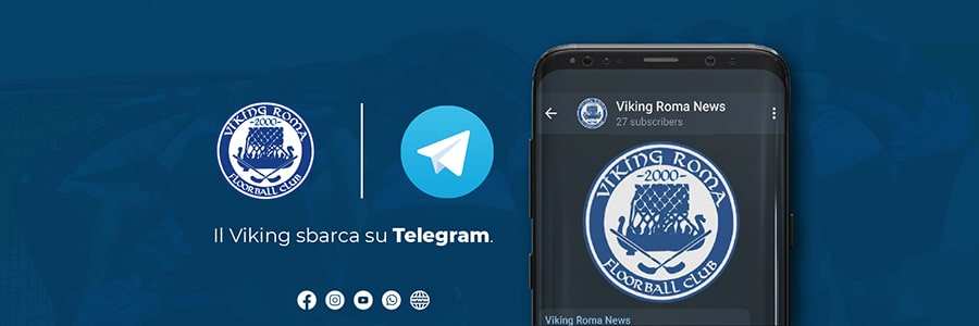 Canale Telegram Floorball Viking Roma